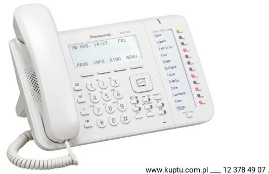 KX-NT556X telefon systemowy IP