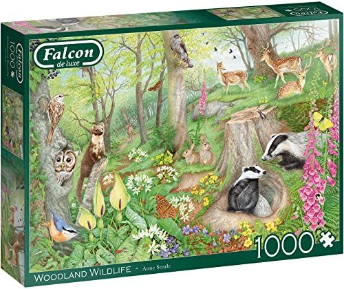 Falcon de luxe Woodland Wildlife puzzle 1000 sztuk