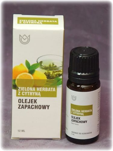 ZIELONA HERBATA z CYTRYNĄ - olejek zapachowy Naturalne Aromaty 12ml
