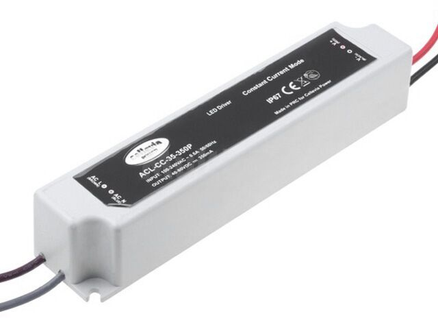 Zasilacz impulsowy do diod LED 28W 40 80V 350mA 100 240VAC