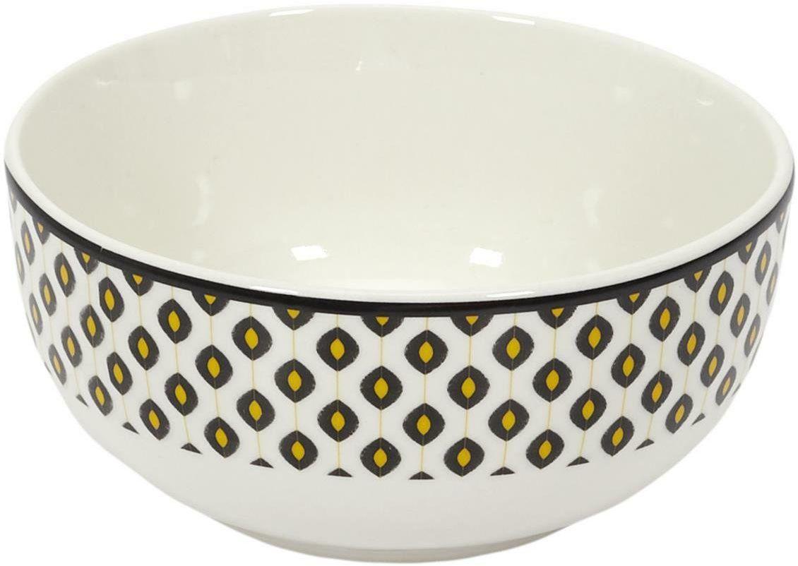 Miska ceramiczna Yellow Leaf 350ml
