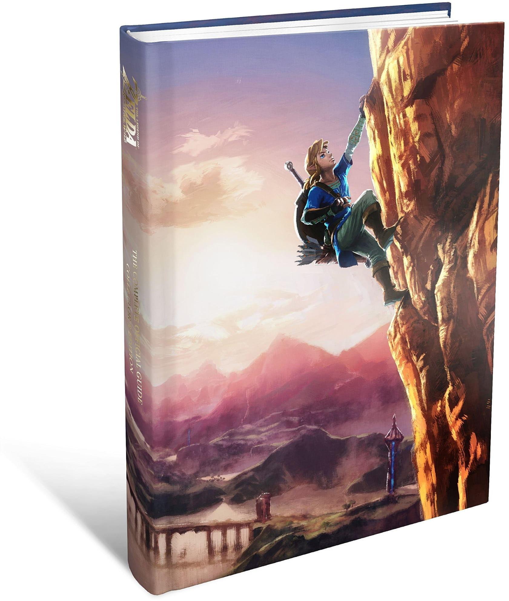 Książka The Legend of Zelda: Breath of the Wild Official Guide Collectors Ed.