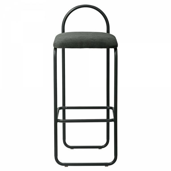 AYTM - ANGUI Hoker - Krzesło Barowe 82,5 cm Forest - Ciemnozielony