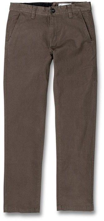 spodnie VOLCOM - frickin slim chino major brown (MBR)