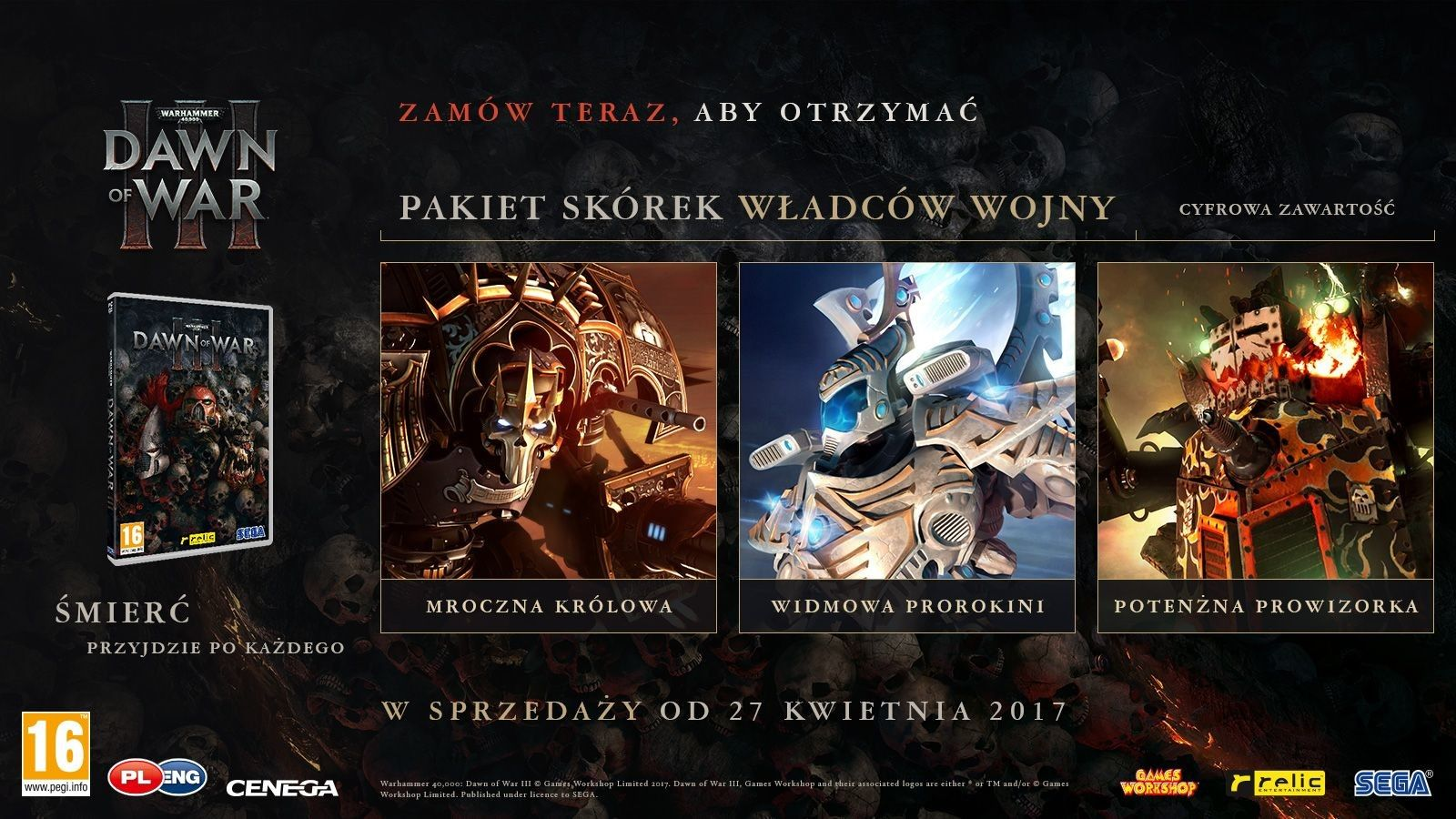 Warhammer 40 000: Dawn of War 3 PL (PC)