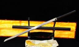 MIECZ SAMURAJSKI SHIRASAYA HONSANMAI STAL WYSOKOWĘGLOWA 1095 I WARSTWOWANA , R710