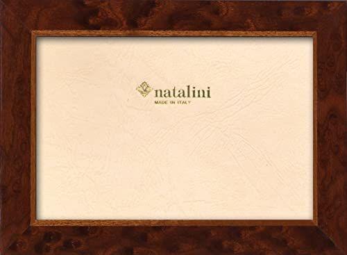 Natalini Ramka na zdjęcia Marquetry wykonana we Włoszech, tulipan, wiąz, 12 cm x 18 cm