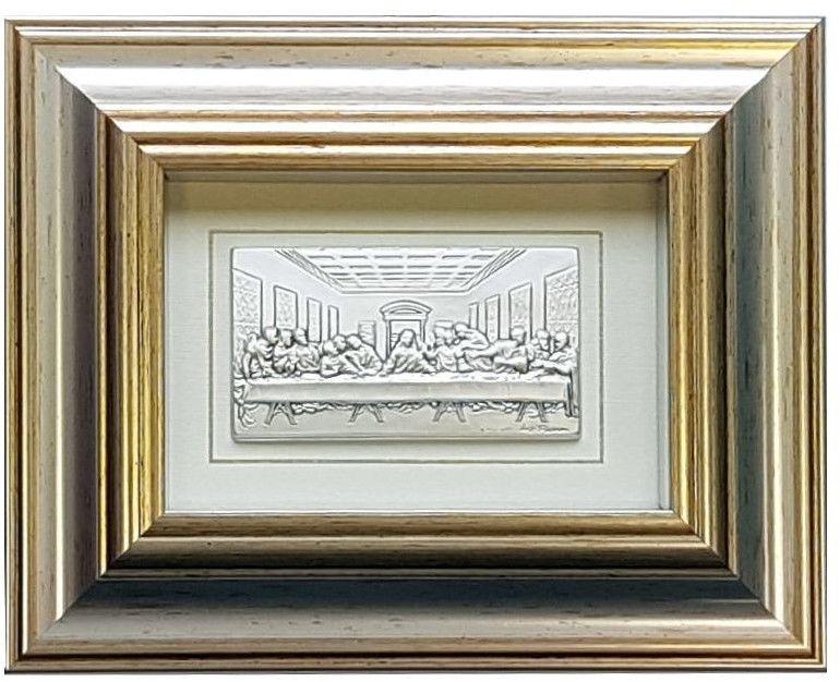 Obrazek Ostatnia Wieczerza w ramce za szkłem Rozmiar: 21x17 cm SKU: LA01.1288.49