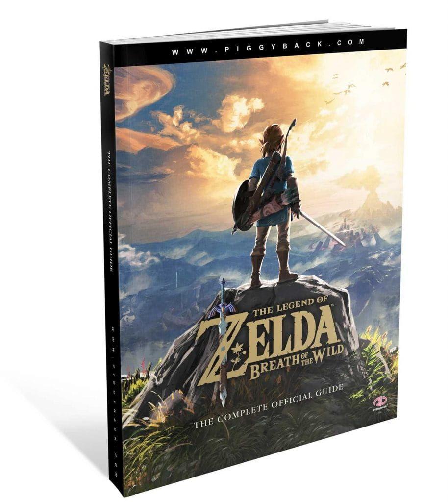 Książka The Legend of Zelda: Breath of the Wild Official Guide