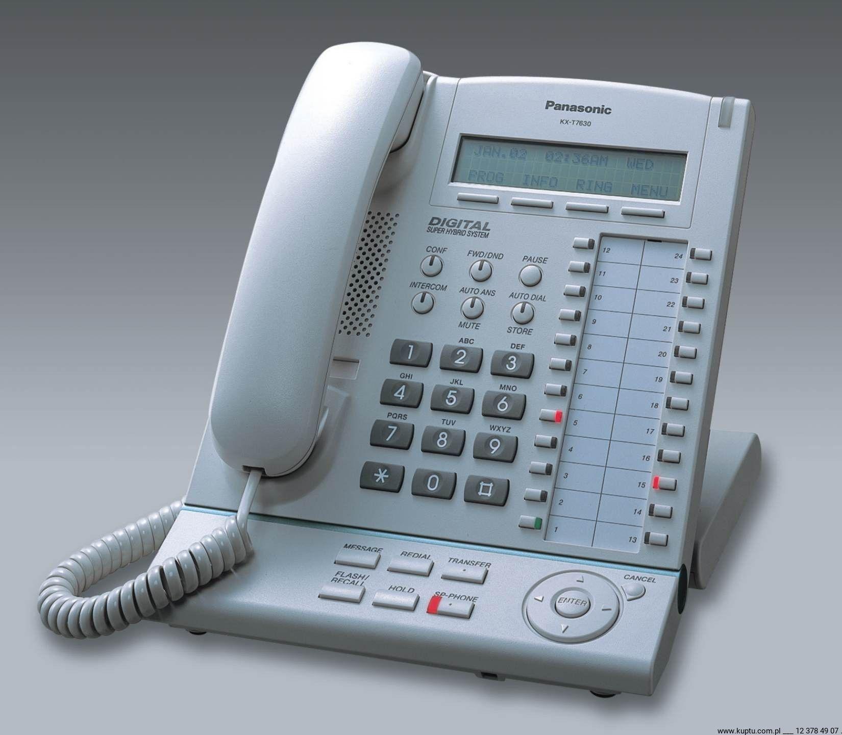 KX-T7630CE telefon systemowy UŻYWANY