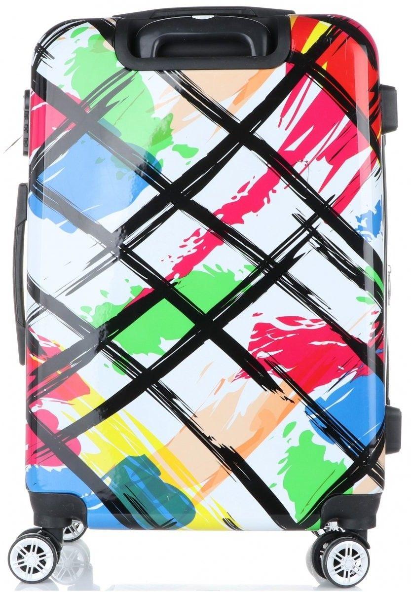 Modny i Unikatowy Zestaw Walizek 3w1 firmy Snowball Multikolor - Biały (kolory)