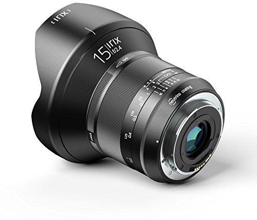 Irix ultra-szerokokątny obiektyw Blackstone 15 mm f2,4 (95 mm gwint filtra pełny rozmiar, oznaczenie świetlne, zoptymalizowany pierścień ostrości)