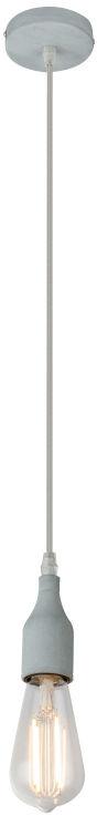 Globo OLIVER A23 lampa wisząca beton- artystyczny antracyt 1xE27 10cm