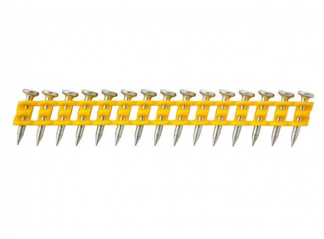 gwoździe do gwoździarki, do betonu i drewna, Standard 2,6 x 15mm, DeWalt [DCN8901015]