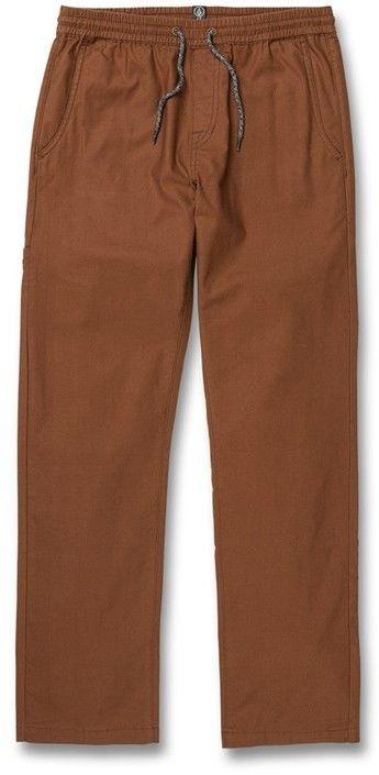 spodnie VOLCOM - riser comfort chino bison (BSN)