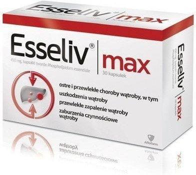 Esseliv Max 0,45g 30 kapsułek