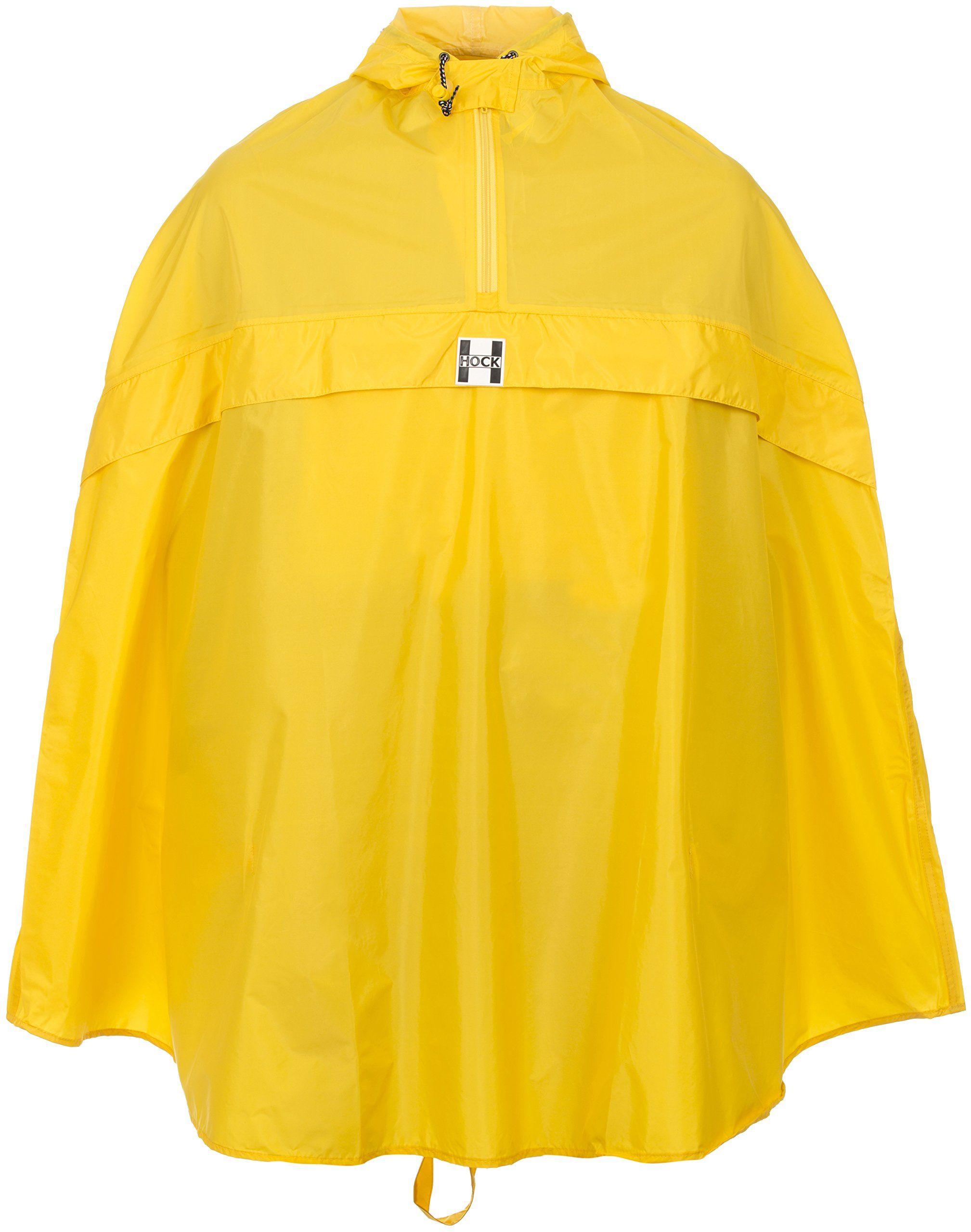 Hock Regenbekleidung Ponczo przeciwdeszczowe dla dorosłych Rain Stop, żółte, XL