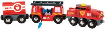 BRIO - Brio World Pociag Straży Pożarnej