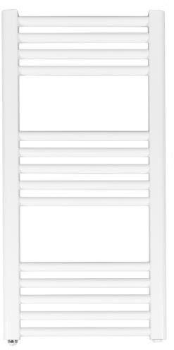 Grzejnik łazienkowy york - wykończenie proste, 400x800, biały/ral