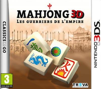 Gra Mahjong: Warriors of the Emperor (Nintendo 3DS)