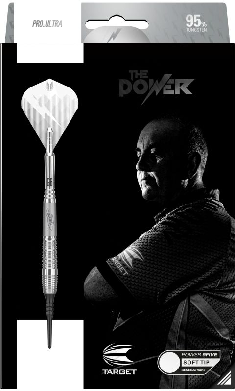 Rzutki Phil Taylor Power 9Five Generation 6 (soft tip) - Target