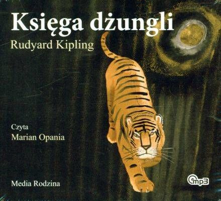 CD MP3 Księga dżungli wyd. 2010 - Rudyard Kipling