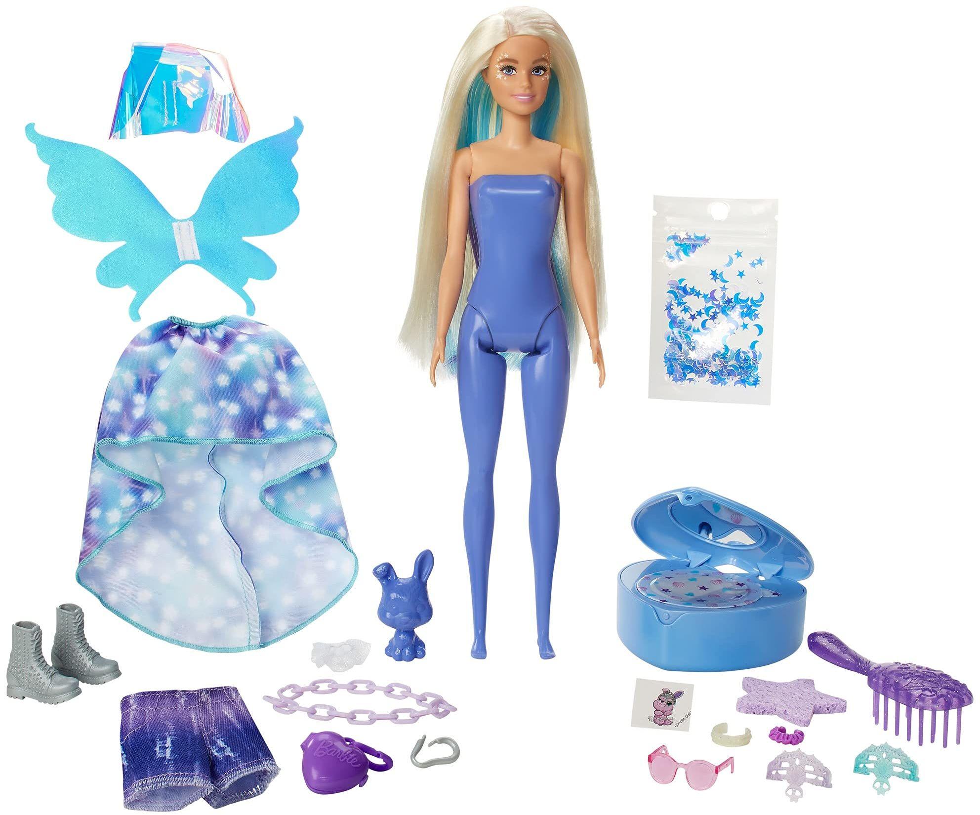 Barbie GXV94 GXV94-Fantasy modna wróżka