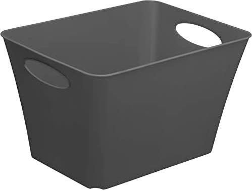 Rotho, Pudełko do przechowywania 44 l, tworzywo sztuczne (PP), bez BPA, antracytowe, 44 l (52,6 x 39,2 x 31,0 cm)