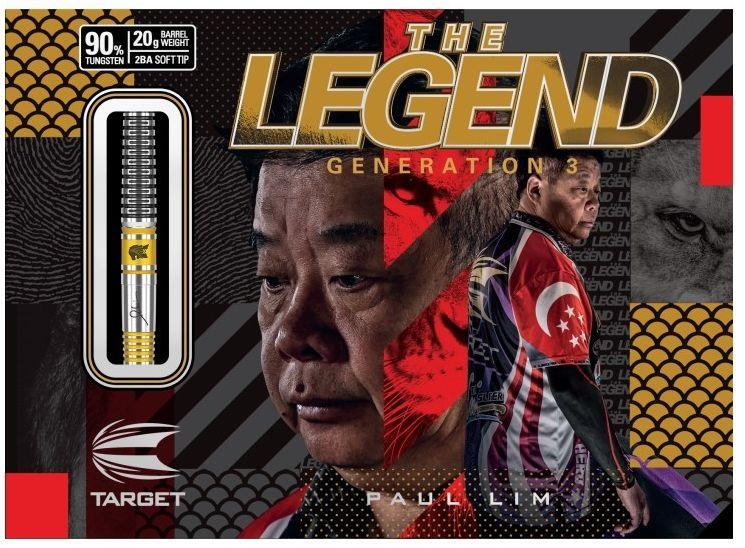 Rzutki Target Paul Lim G3 (soft tip)