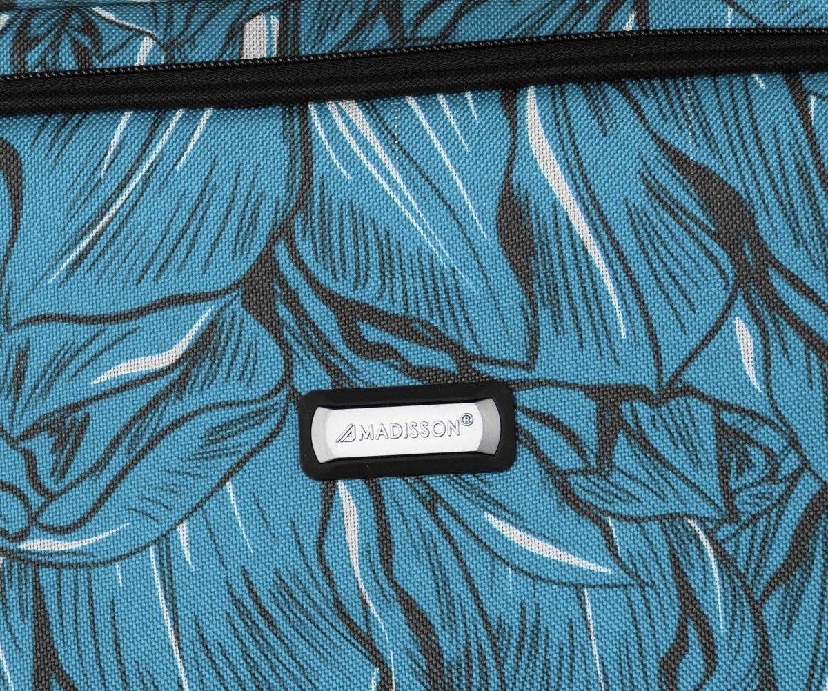 Modny Zestaw Walizek 4w1 renomowanej marki Madisson Multikolor - Niebieski (kolory)