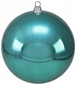 EUROPALMS Deco Ball Dekoracyjna kula, bombka 30cm, turquoise