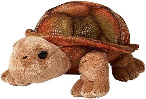 Uni-Toys - olbrzymi żółw - 21 cm (długość) - żółw, dzikie zwierzę - pluszowe zwierzątko