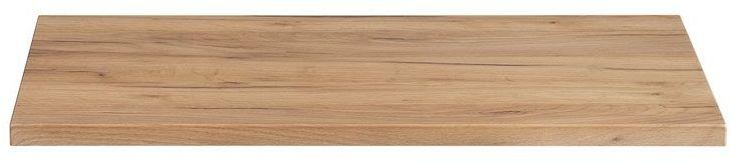 Prostokątny blat łazienkowy - Malta 10X Dąb 80 cm