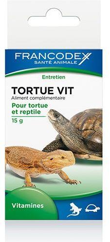 Francodex Witaminy dla żółwi i gadów 15g