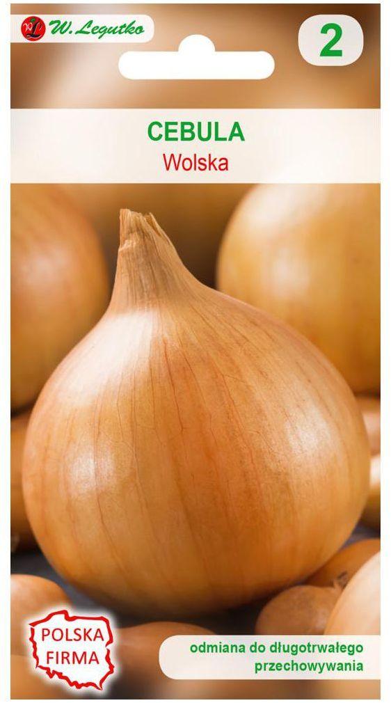 Cebula biała WOLSKA nasiona tradycyjne 5 g W. LEGUTKO