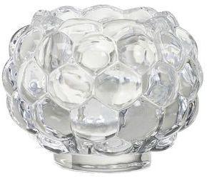 Bolsius Świecznik szklany 2w1 bubble 60/75