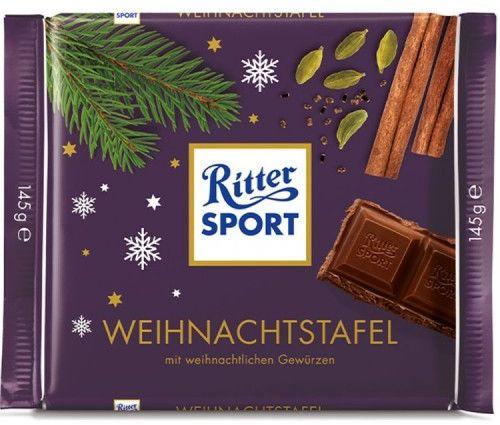 Czekolada Ritter Sport Christmas 145g