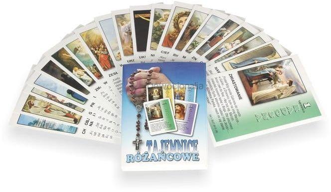 Tajemnice różańcowe (n) - 20 szt kart