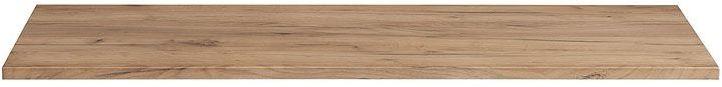 Prostokątny blat łazienkowy - Malta 10X Dąb 120 cm