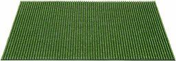 Wycieraczka Queens z polietylenu do użytku na zewnątrz, na wszystkie pory roku, zielona, 40 x 60 cm