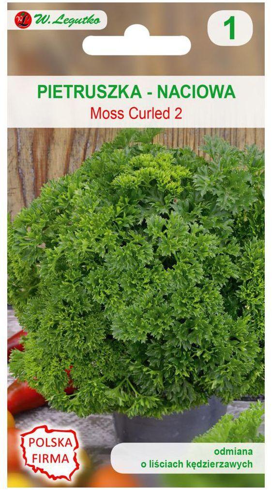 Pietruszka naciowa MOSS CURLED 2 nasiona tradycyjne 4 g W. LEGUTKO