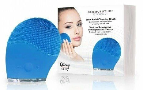DermoFuture Szczoteczka Soniczna do oczyszczania twarzy Niebieska