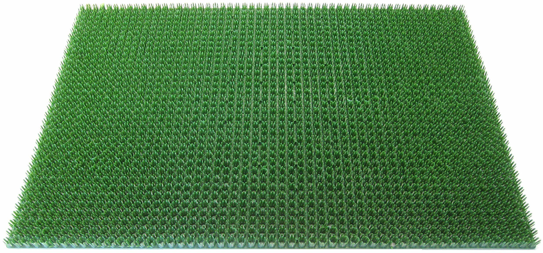 ID mat t 406007 gazongrat dywan wycieraczka polietylen zielony 60 x 40 x 1,9 cm