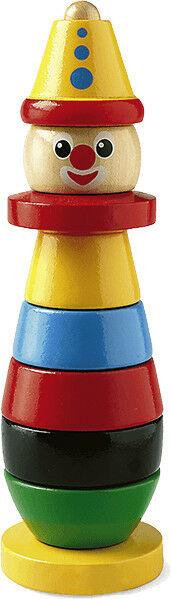BRIO - Brio Piramida Drewniana Kolorowy Klaun