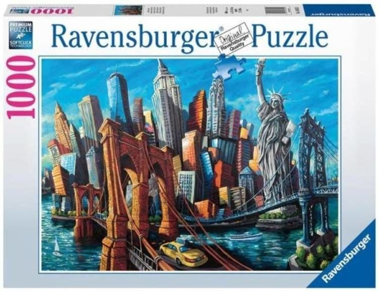 Puzzle 1000 Welcome to New York - Ravensburger
