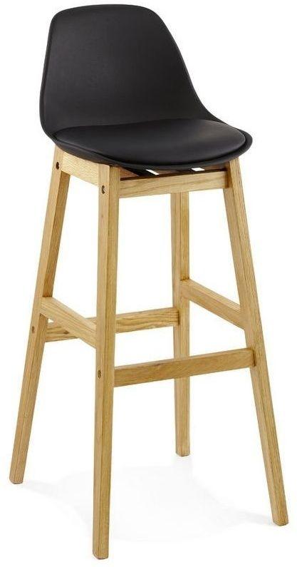 Kokoon design - krzesło wysokie elody - czarne