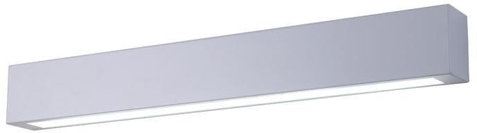 Light Prestige Ibros GS-LWA-9W WH kinkiet lampa ścienna nad lustro biały LED 9W IP44 63cm