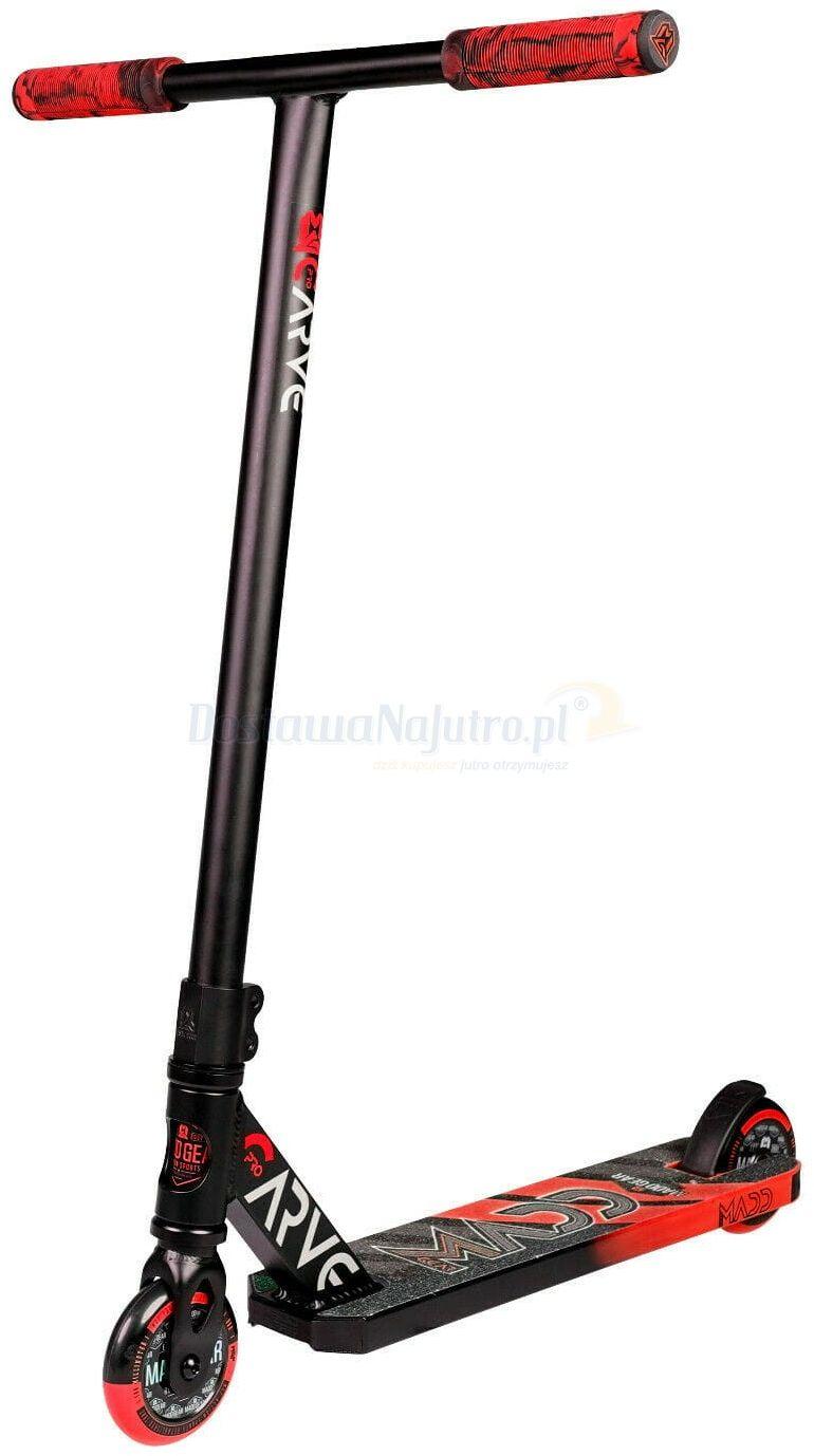 Hulajnoga wyczynowa Stunt Carve Pro-X MGP Madd Gear 2021 czarno czerwona