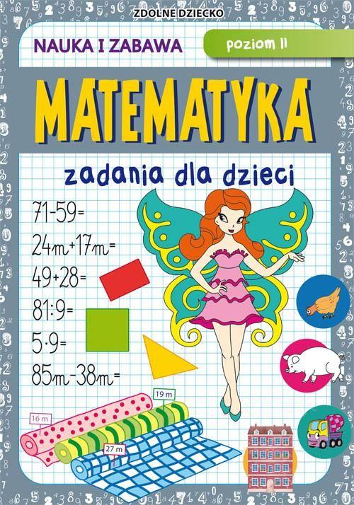 Matematyka Zadania dla dzieci Poziom II - Beata Guzowska - ebook