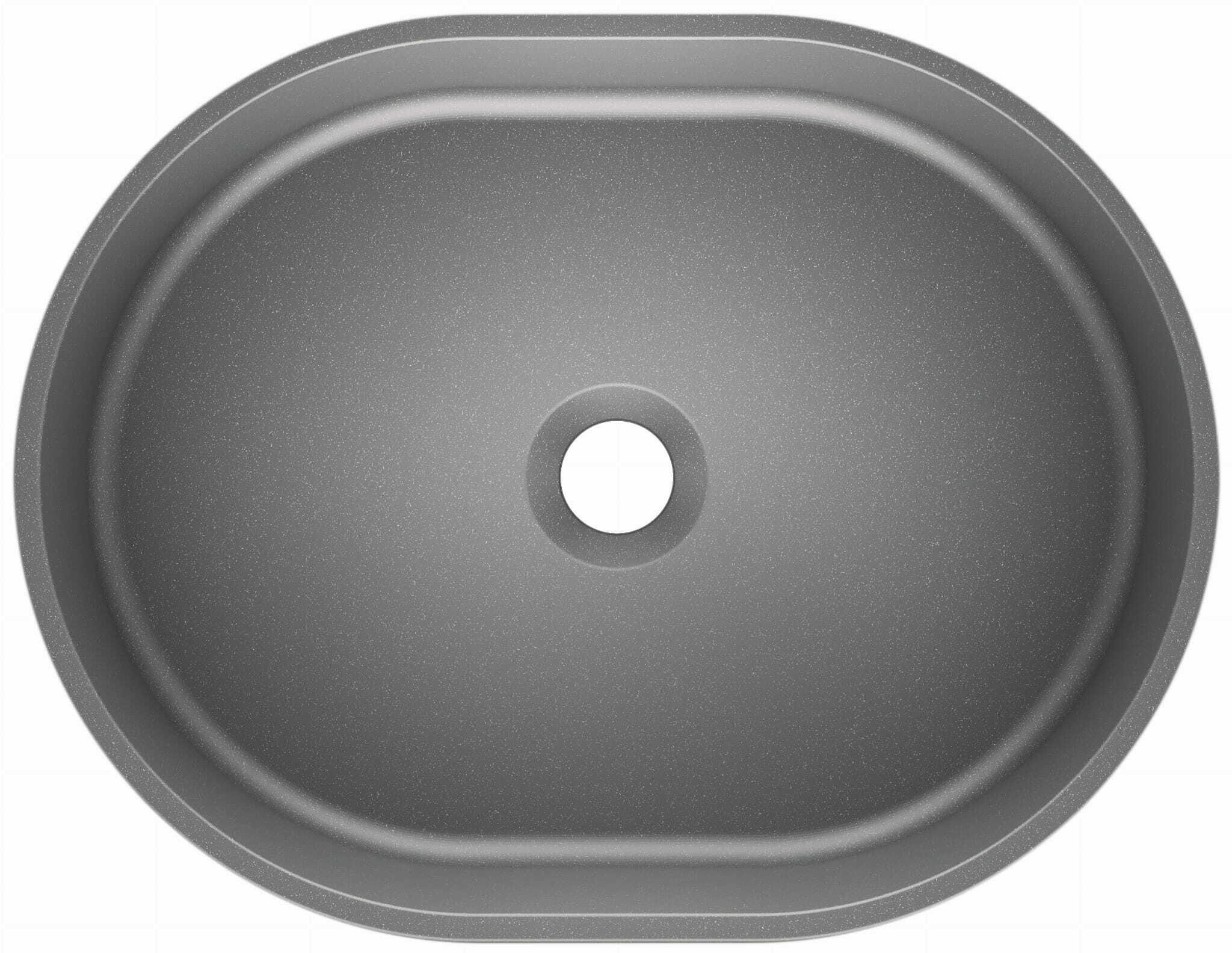 Umywalka nablatowa OLIB 48 Moonlight grey